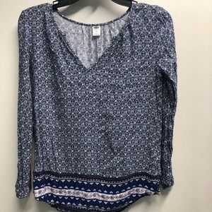 3 for $12! Old Navy XS Blue Tunic